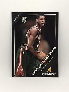 2013-14-Pinnacle-5-GIANNIS-ANTETOKOUNMPO-ROOKIE-Bucks-Basketball-Card-Nice