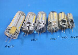 G4 3014 SMD LED Crystal lamp light LED Bulb Chandelier 3W-9W DC 12V//AC 220V SE