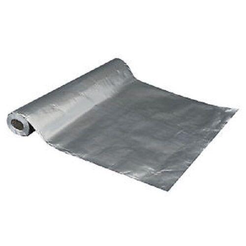 250 sqft Aluminum Foil Barrier Insulation Sauna Vapor Barrier Waterproof Strong