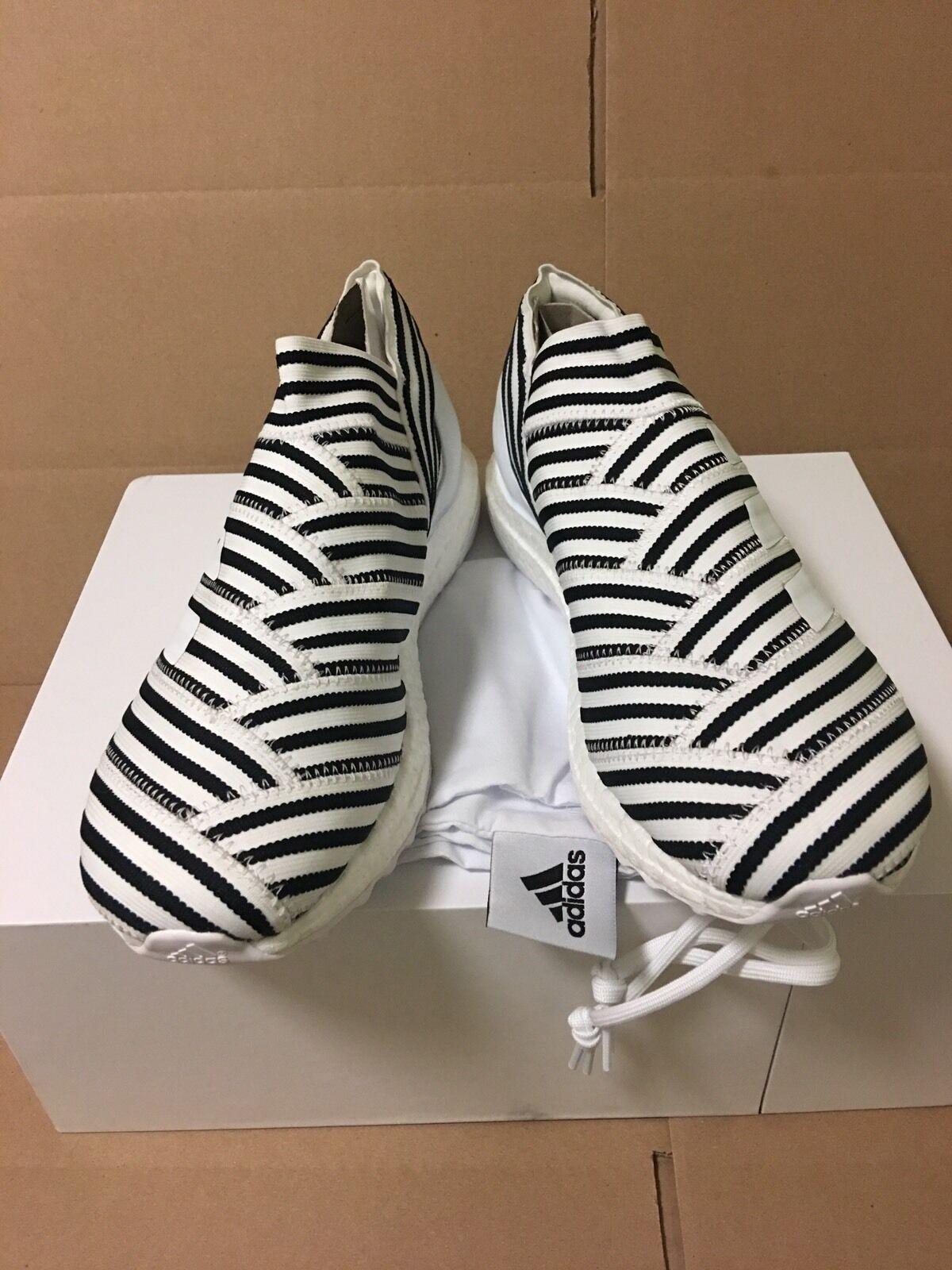 New Adidas Nemeziz Tango 17+ 360 Agility Ultra Boost Zebra size 9.5 US Sneakers