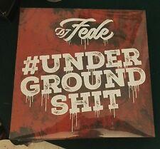 DJ Fede #Underground Shit DOPPIO VINILE ROSSO 2 LP SIGILLATO NUMERATO 100 copie