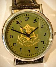 ISRAEL, IDF WRIST WATCH  , HEBREW LETTERS, NEW SPECIAL MODEL.