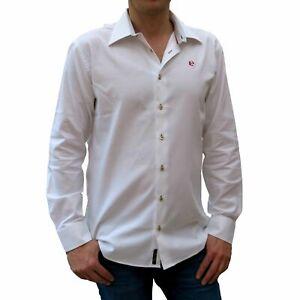 DaGallo Oxford Shirt XL Herren Hemd langärmlig weiß Baumwolle Qualität Segeln