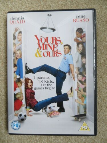 1 of 1 - Yours, Mine And Ours (DVD, 2006)