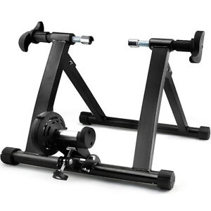 Folding-Indoor-Bike-Bicycle-Magnetic-Turbo-Trainer-Exercise-Fitness-Training-UK