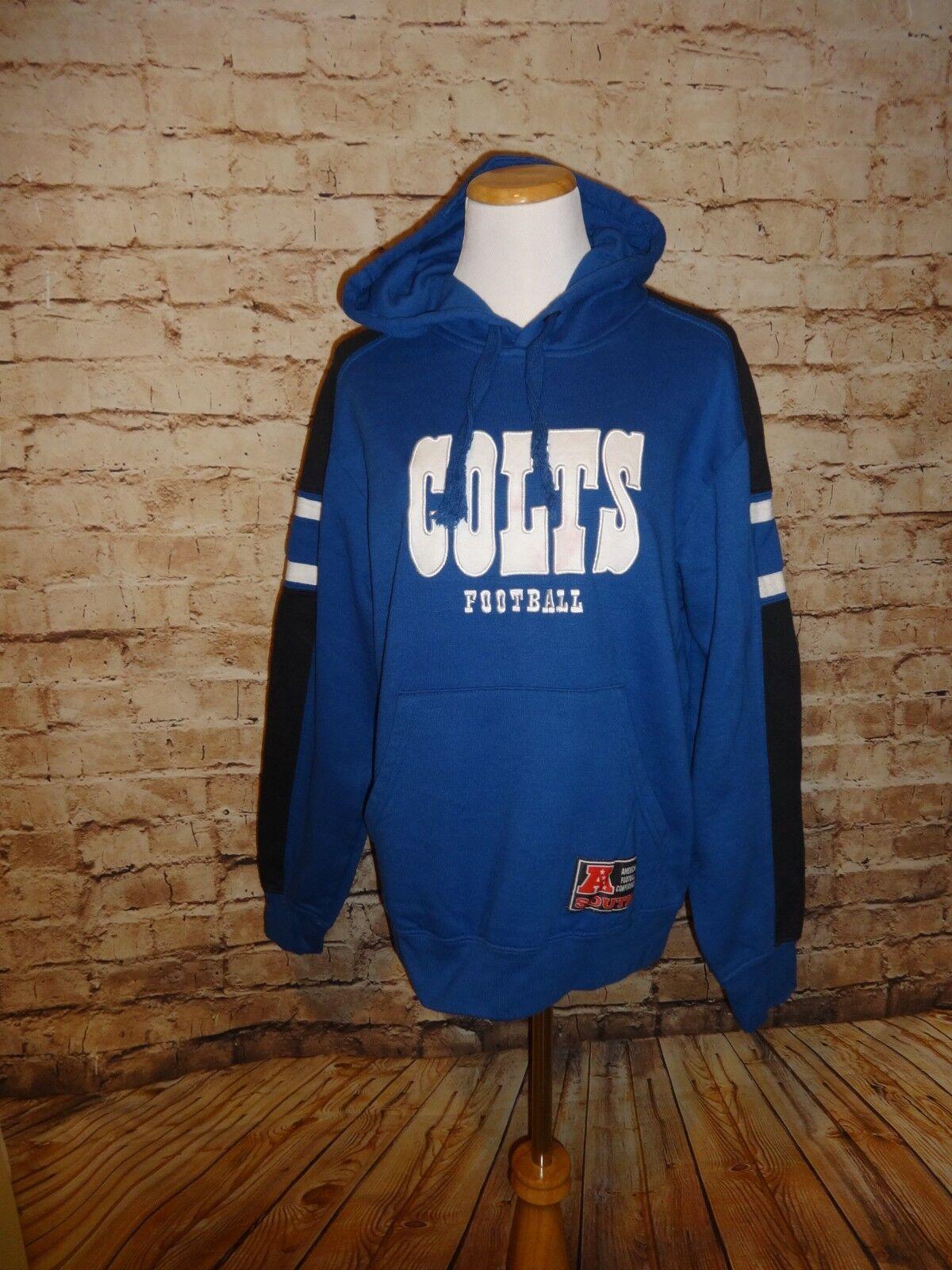 Colts Football  Hoodie Sweatshirt Unisex SZ S Hooded Top Blau NFL Team Apparel