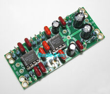 Balanced to Unbalanced XLR to RCA Dual OP Amp Preamplifier Board Low Distortion