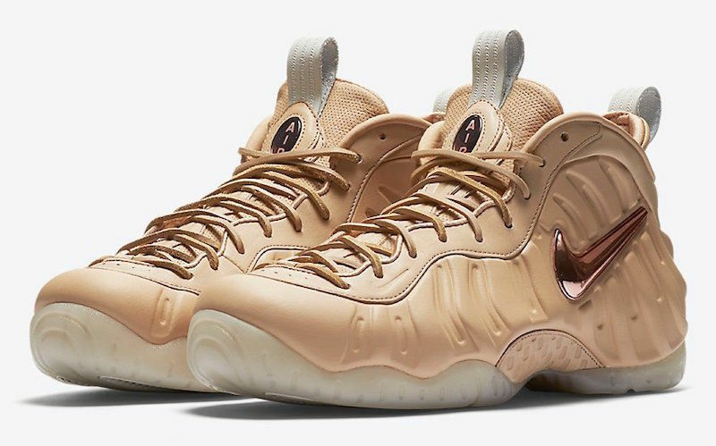 Nike Air Foamposite Pro PRM QS All Star Vachetta Tan Size 10. 920377-200 leather
