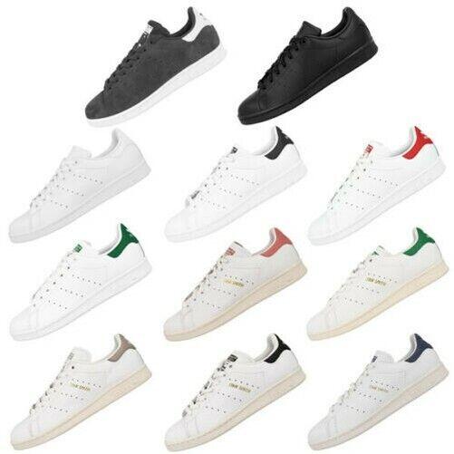 Adidas Stan Smith Uomo Scarpe Sneaker Tennis Scarpe da Ginnastica Tempo Libero