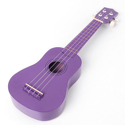 Purple Ukulele Uke Mahalo Style Ukelele Soprano Musical Instrument for Beginners