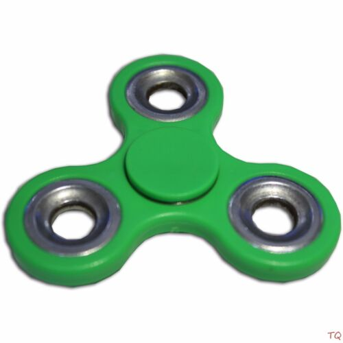 Tri-Spinner Fidget Hand Finger Focus Toy EDC Pocket Desk ADHD Gift Green