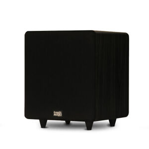 Acoustic-Audio-PSW400-10-Home-Theater-Powered-10-034-LFE-Subwoofer-Front-Firing-Sub