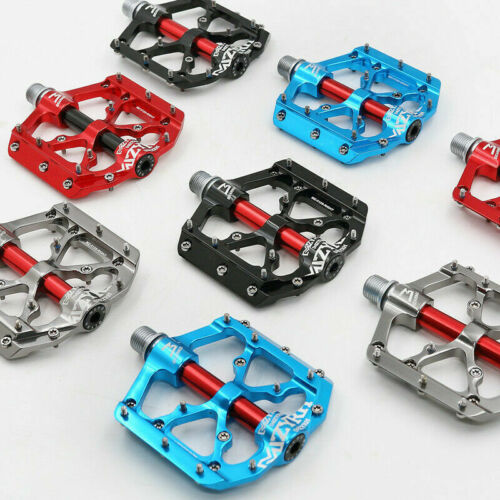 """Mzyrh MTB Mountain Road Bike Pedals Cycling Bicycle Flat 3 Bearing Pedals 9//16/"""""""