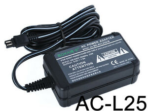 AC-Battery-Charger-Power-Adapter-For-Sony-Handycam-AC-L20-AC-L20A-AC-L25-AC-L25A