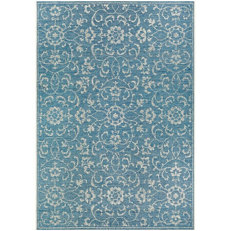 Couristan Couristan Couristan Summer Vines Ocean-Ivory In-Out Runner, 2'3  x 11'9  - 23313216023119U ad4e53