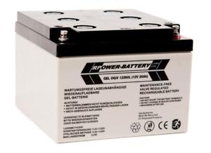 12V 26Ah LONGLIFE GEL-Batterie SOLAR - Batterie, Versorgungsbatterie, Akku, USV