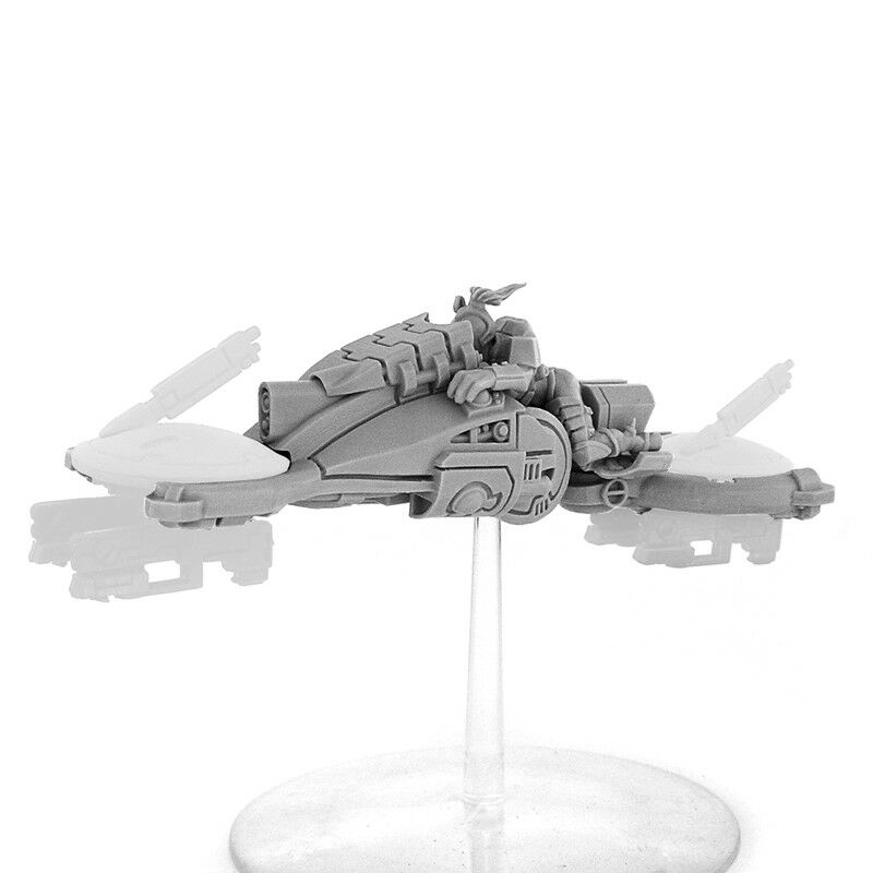 Wargame Exclusive Greater Good Panaque Bi-Drone Skimmer Miniature 1 3 32in