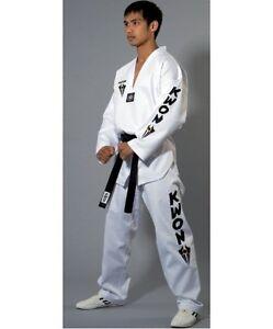 Taekwondo,TKD Anzug Starfighter m. weißem Revers, Taekwondoanzug KWON. 120-190cm