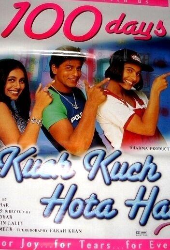 Buy Kuch Kuch Hota Hai Poster 4 Bollywood Shahrukh Khan Online Ebay
