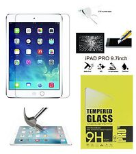 Genuine Premium Tempered Glass Film Screen Protector For Apple iPad Pro 9.7""