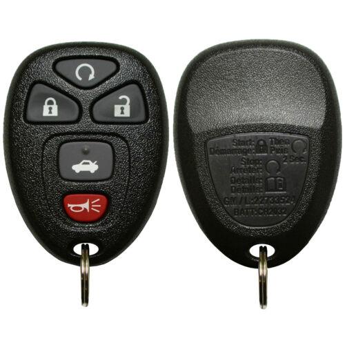OEM Factory GM Keyless Entry Remote Start Transmitter Fob Alarm 22733524