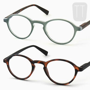 Round-READING-GLASSES-Retro-Vintage-Geek-Readers-Tortoiseshell-1-1-5-2-2-5-3