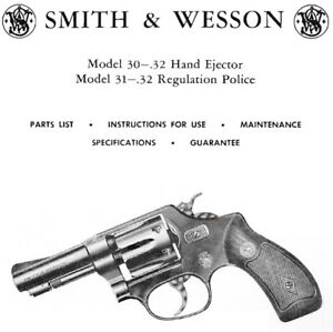 smith wesson model 30 and 31 revolver parts use maintenance rh ebay com smith & wesson 79g manual smith wesson 686 manual