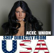 1/6 Michelle Rodriguez Head Sculpt Fast & Furious For Hot Toys - U.S.A. SELLER