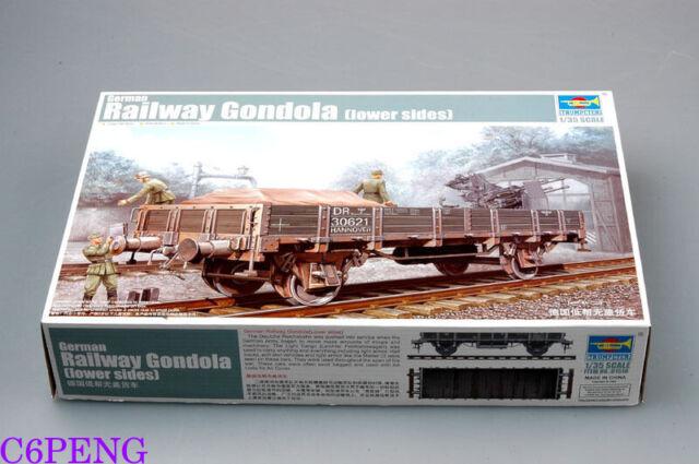 Trumpeter 01518 1/35 Railway Gondola (Lower Sides) hot