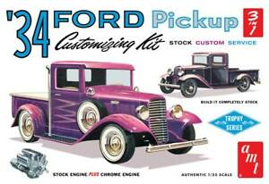 AMT-1120-1934-Ford-Pickup-Truck-3-in-1-Customizing-plastic-model-kit-1-25