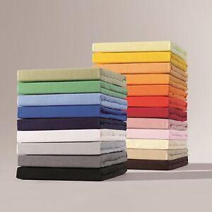 schlafgut exklusiv frottee stretch spannbettlaken 90x200 100x200 ebay. Black Bedroom Furniture Sets. Home Design Ideas