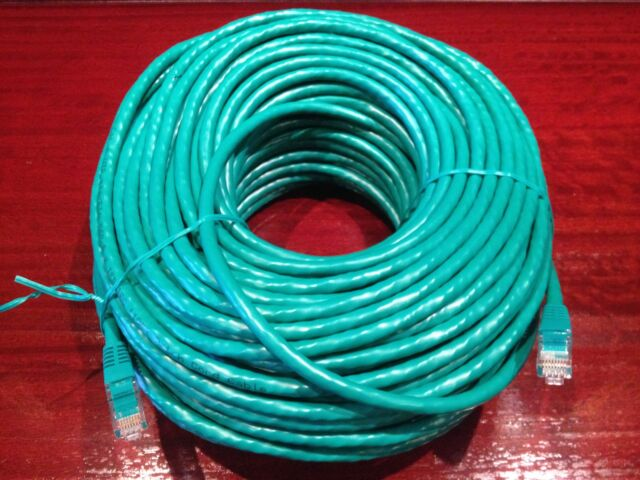 20m High Quality RJ45 Cat6 Ethernet Network Patch Lead LAN Cable 100M/1000Mbps