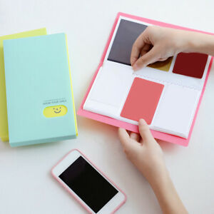 Portable-120-Pockets-Scrapbooking-Photo-Name-Card-Photocard-Album-ID-Holder-Cute