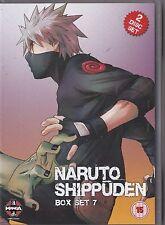 NARUTO SHIPPUDEN BOX SET 7 DVD MANGA EPISODES 78 - 88