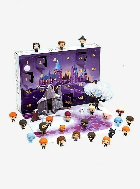 divertiessitoko Tasca vinile Pop  Harry Potter Calendario Avvento 2018 Collector's