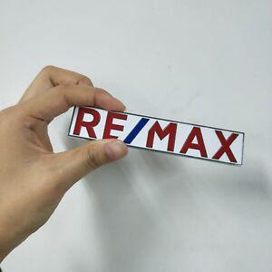 Metal-Emblem-car-RE-MAX-Logo-Tag-Remax-Realtor-Real-Estate-Agent