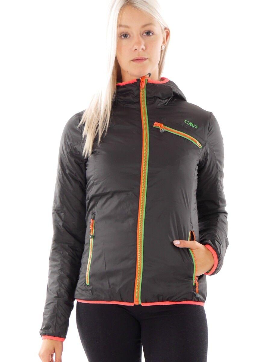 CMP Giacca transizione transizione Giacca giacca nero cappuccio Primaloft ® caldo 8730a6