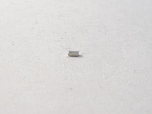 100x Neodym Magnet Quader N45 5x2x2mm super stark 260g Power Block Dauermagnete