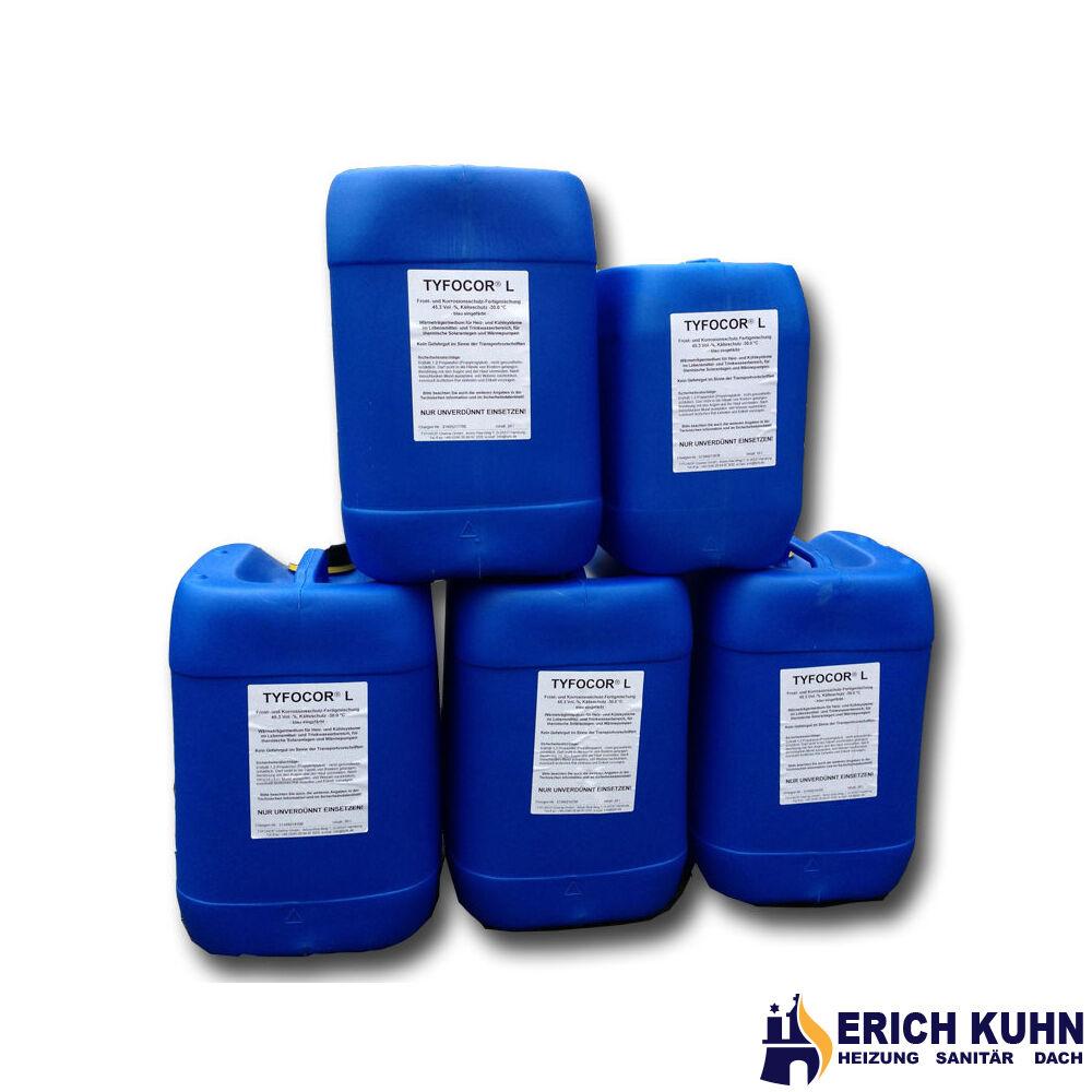 90 Liter Tyfocor L -30°C Solarflüssigkeit Frostschutzmittel Solarfluid Solar 20