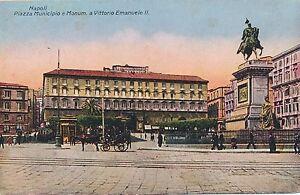 NAPOLI-Piazza-Municipio-e-Monum-a-Vittorio-Emanuele-II-Naples-Italy