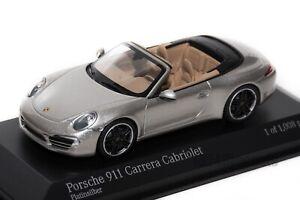 PORSCHE-911-Carrera-Cabrio-Minichamps-410-060231-SCALA-1-43-da-collezione