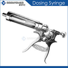 30cc Hauptner Dosing Syringe For Accurate And Correct Dosing Stainless Steel