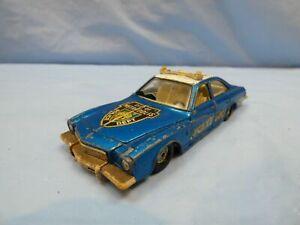 VINTAGE-Corgi-Toys-n-416-Buick-Regal-Auto-della-polizia-suoerman-citta-di-Metropolis-giocattolo