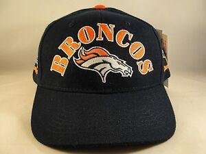 NFL Denver Broncos Vintage 2X Super Bowl Champions Snapback Hat Cap ... a35a8128b