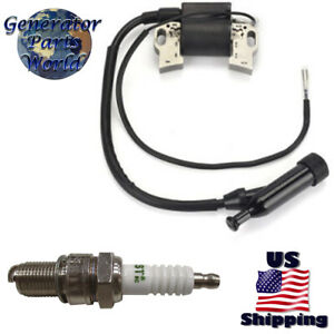 Troy-Bilt Ignition Coil /& Plug for Briggs Stratton 2100 XP 7000 10500 030477