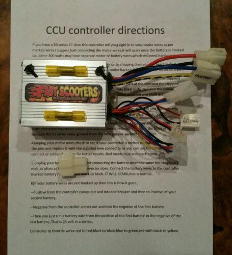 Cruzin Cooler Mises à Niveau Heavy Duty 500 W contrôleur//ECM