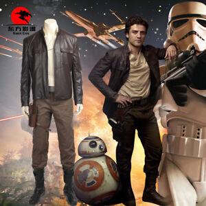 DFYM-Star-Wars-The-Last-Jedi-Poe-Dameron-Cosplay-Costume-Full-Suit-Custom-Made