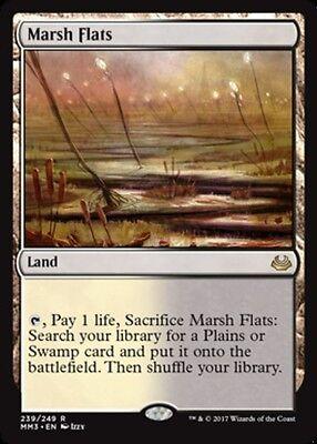 Marsh Flats x1 Magic the Gathering 1x Modern Masters 2017 x1 card rare land