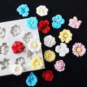 Daisy-Sun-Flower-Silicone-Fondant-Mold-Chocolate-Sugarcraft-Bake-Mold-Cake-Decor