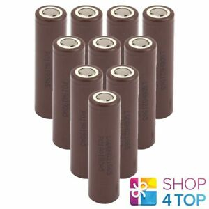 10-LG-18650-RECHARGEABLE-3-6V-BATTERY-Li-ion-3000-mAh-LG-HG2-20A-NEW